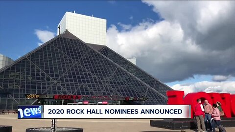 Nominees for the 2020 Rock and Roll Hall of Fame induction class announced
