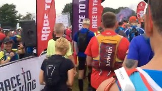 Runners Set Off on Epic 53-Mile Marathon Route - Video