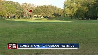 Neighbors concerned about hazardous pesticide