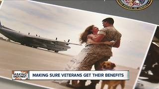 Making sure veterans get the benefits they are entitled to