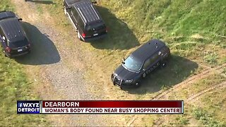 Woman's body found in Dearborn field, police investigating it as a homicide