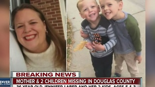 Deputies looking for missing mother & kids - Video