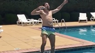 Cannon Ball + Beer = A Fun Time - Video
