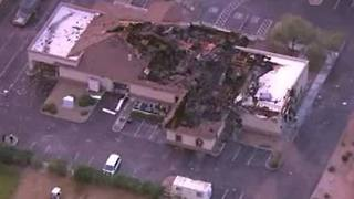 FD: Large fire destroys Chandler's Valley of the Sun Mortuary - Video