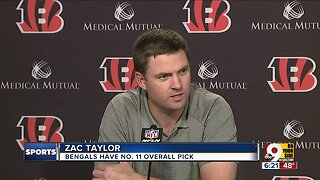 Who will Bengals draft? Zac Taylor is taking recommendations