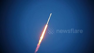 New stunning footage of SpaceX Falcon Heavy launch - Video