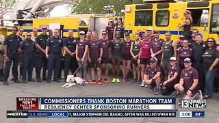 Vegas Strong team going to Boston Marathon - Video
