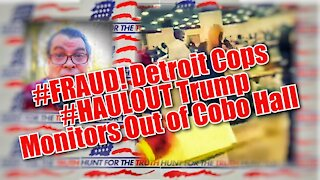 #FRAUD @DETROIT What Happened From Trump Observers POV #stopthesteal