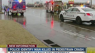 Police ID man killed in auto-ped crash - Video