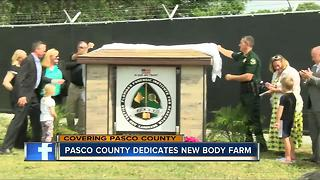 'Body farm' opening in Pasco County - Video