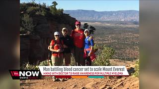 Metro Detroit cancer patient and his doctor to climb Mount Everest - Video
