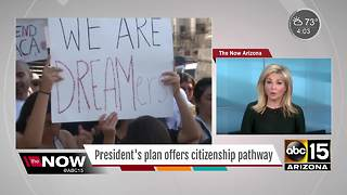 President Trump proposes new plan for 'Dreamers' - Video