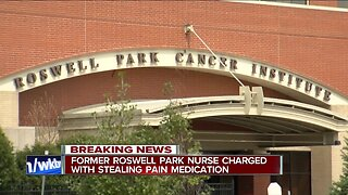 Former Roswell Park nurse charged with stealing pain medication