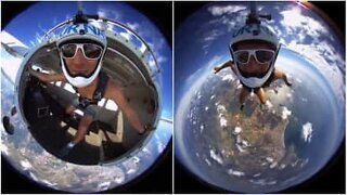 This 360º skydiving video will blow your mind!