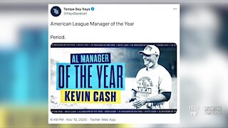 Rays' Kevin Cash named AL Manager of the Year