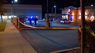 Off-duty Cleveland police officer attacked, gun stolen while working security at Taco Bell - Video