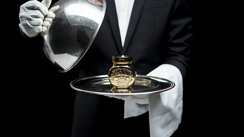 Love it or hate it! Most expensive marmite jar in the world's covered in 18 cart gold-plate and valued at £1,500