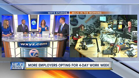 Mojo in the Morning: A 4-day work week?