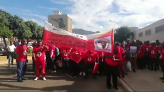 South Africa - Cape Town - DEMAWUSA March to City of Cape Town (video) (3ry)