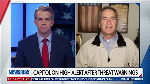 REP. JODY HICE TO NEWSMAX TV: 'DEMOCRATS ARE ABSOLUTELY SCARED OF THEIR OWN SHADOW'
