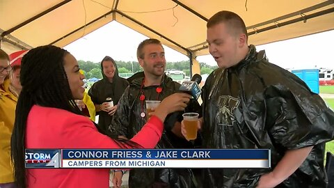 A Wet Start to Country Thunder in Twin Lakes