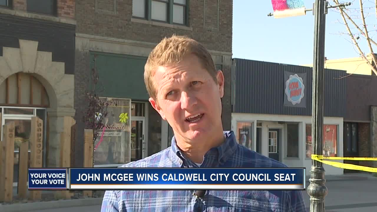 Former lawmaker John McGee wins seat on Caldwell City Council
