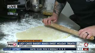 Lady Cakes Bakery makes homemade holiday treats -- 7am live report - Video