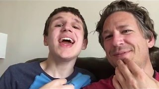 Dad Films Lovely Conversation With 16-Year-Old Autistic Son - Video