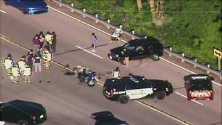 Motorcyclist suffers serious injuries in Waukesha County - Video