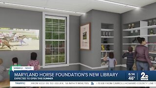 Maryland Horse Foundation's New Library