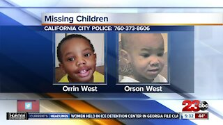 Biological Mother worried for her two missing toddlers in California City
