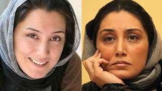 Iranian Celebrities without makeup and with makeup - Video