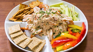 Smoked Tuna Dip and Tequila Lime Grilled Shrimp - Video