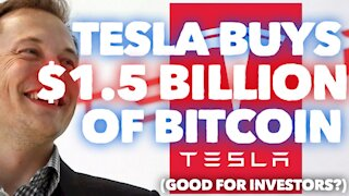 Tesla Buys $1.5 Billion Dollars Worth of Bitcoin