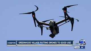 Greenwood Village putting drones to good use - Video