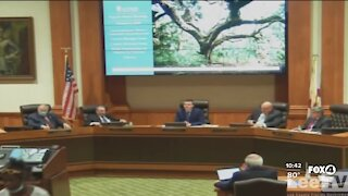 Clash at Lee county commission meeting over people sleeping in popular park