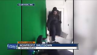 Milwaukee man takes a stand inside a non-profit house shut down by city - Video