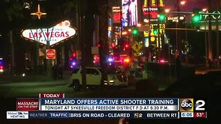 Maryland offers active shooter training in Sykesville - Video