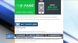 MCTS has your hookup for Summerfest travel