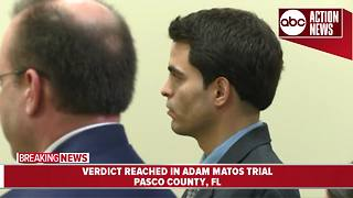 Jury: Adam Matos guilty of quadruple murder - Video