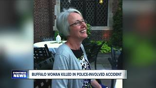 Woman hit and killed by Buffalo Police officer - Video
