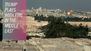 Trump reverses US policy on Jerusalem - Video