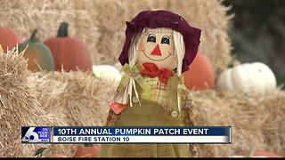 Boise Fire Department Hosts Pumpkin Patch Fundraiser - Video