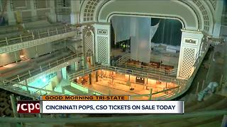 Cincinnati Symphony Orchestra, Pops start selling single-day tickets on Tuesday - Video