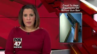 Michigan high court to hear arguments on schools, guns - Video