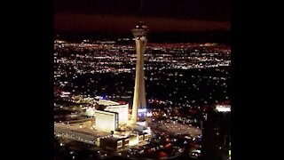 Firefighters and UNLV coaches gather to climb 108 story Strat tower