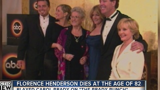 'Brady Bunch' actress Florence Henderson dies at 82 - Video