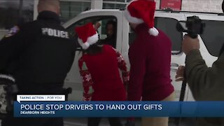 Dearborn Heights police surprise drivers with gift cards instead of tickets