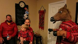 Kid Meets A Christmas Nightmare - Video