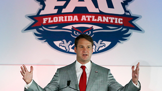 FAU introduces Lane Kiffin as new head football coach - Video